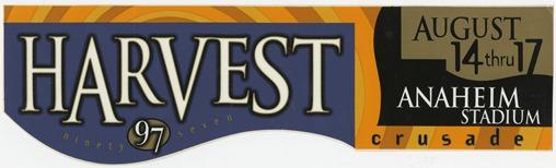 Bumper Sticker 1997